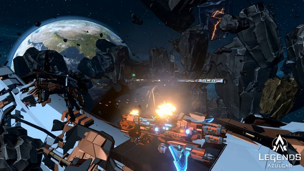 Space Conflict - Legends of Azulgar Torrent Download