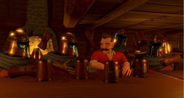 Chevaliers de la fente de la table PC noyée