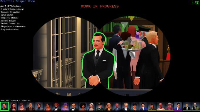 SpyParty PC Crack
