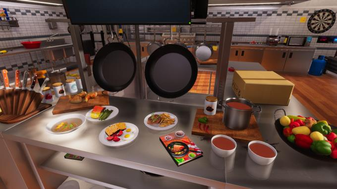 Pişirme Simülatörü Torrent İndir