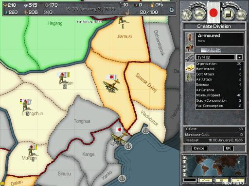 Hearts of Iron PC Crack