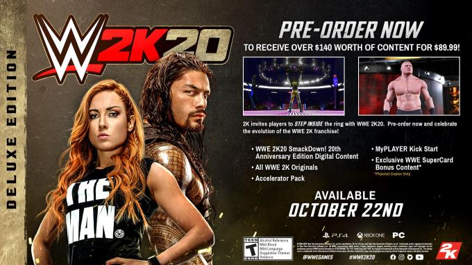 WWE 2K20 Torrent Download