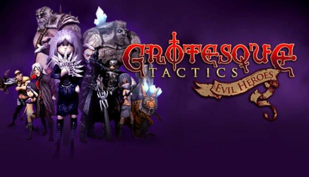Grotesque Tactics: Evil Heroes Free Download
