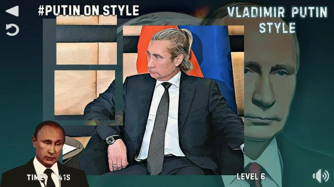 Vladimir Putin Stil PC Çatlak