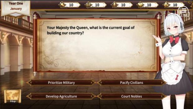 Queen's Glory 女王的榮耀 PC Crack