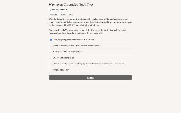 Wayhaven Chronicles: Kitap İki PC Çatlaması