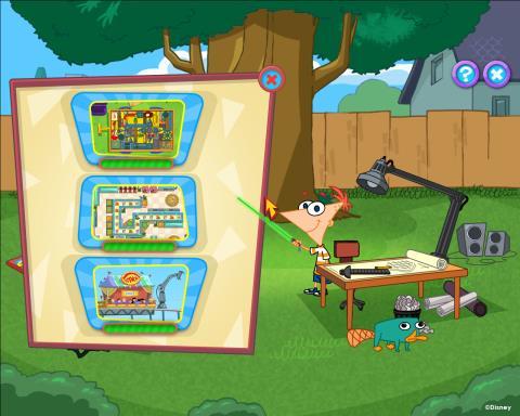 Phineas ve Ferb: Yeni Buluşlar PC Crack
