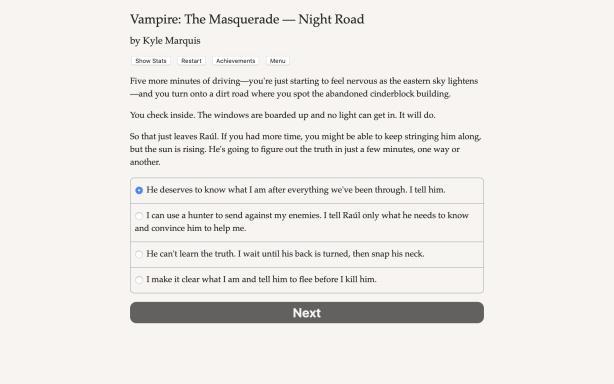 Vampire: The Masquerade - Night Road PC Crack