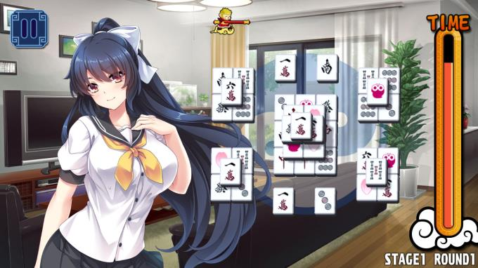 Pretty Girls Mahjong Solitaire [BLUE] Torrent İndir