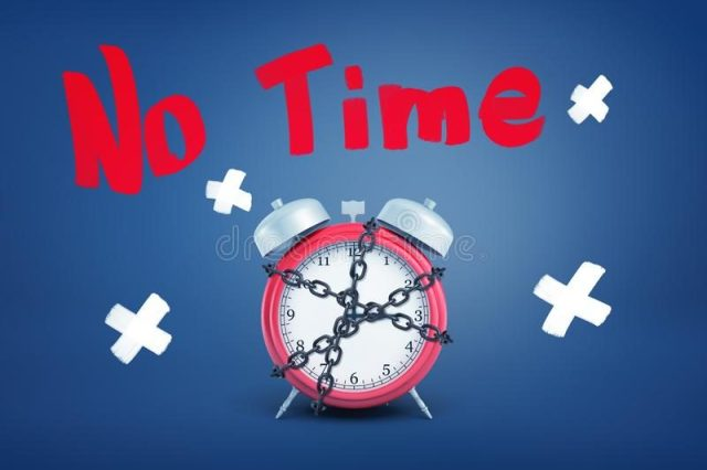 d-rendering-red-alarm-clock-bound-metal-chain-under-word-no-time-above-loss-time-pressed-schedule-no-time-132844337-9838414