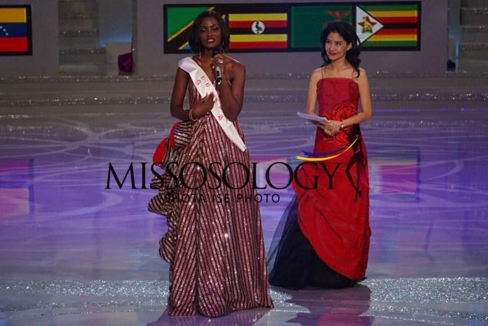 Miss Uganda Abenakyo Quiin ari imbere y'akanama nkemurampaka
