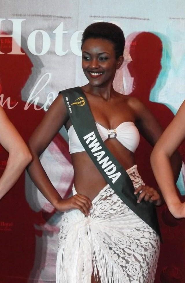 Image result for Honorine Hirwa Uwase uzwi nka Gisabo yanze kwambara Bikini