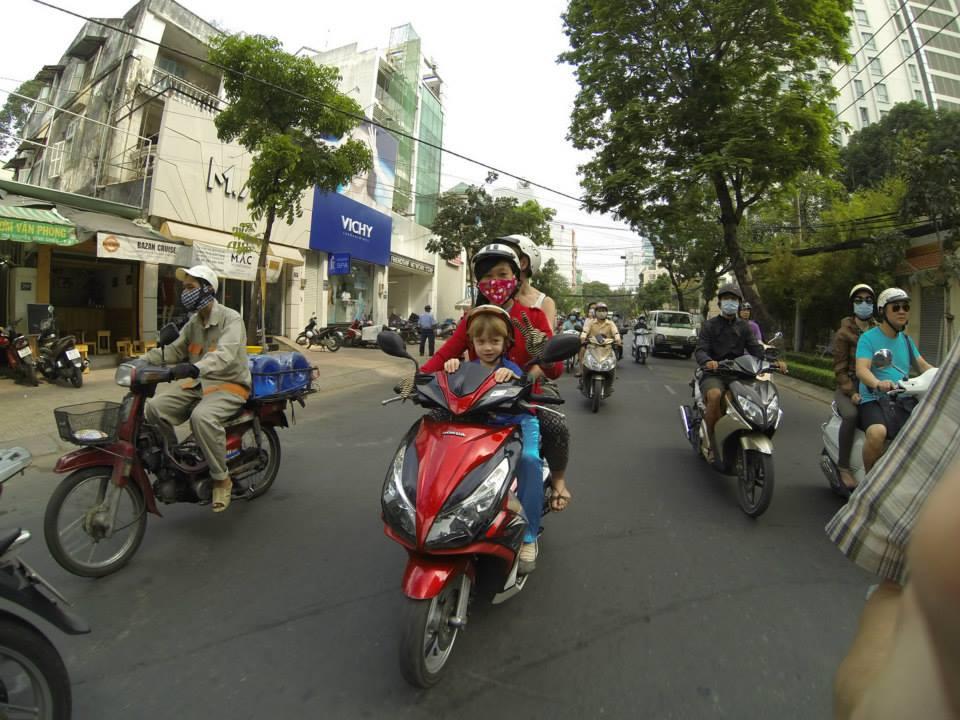 wietnam ride