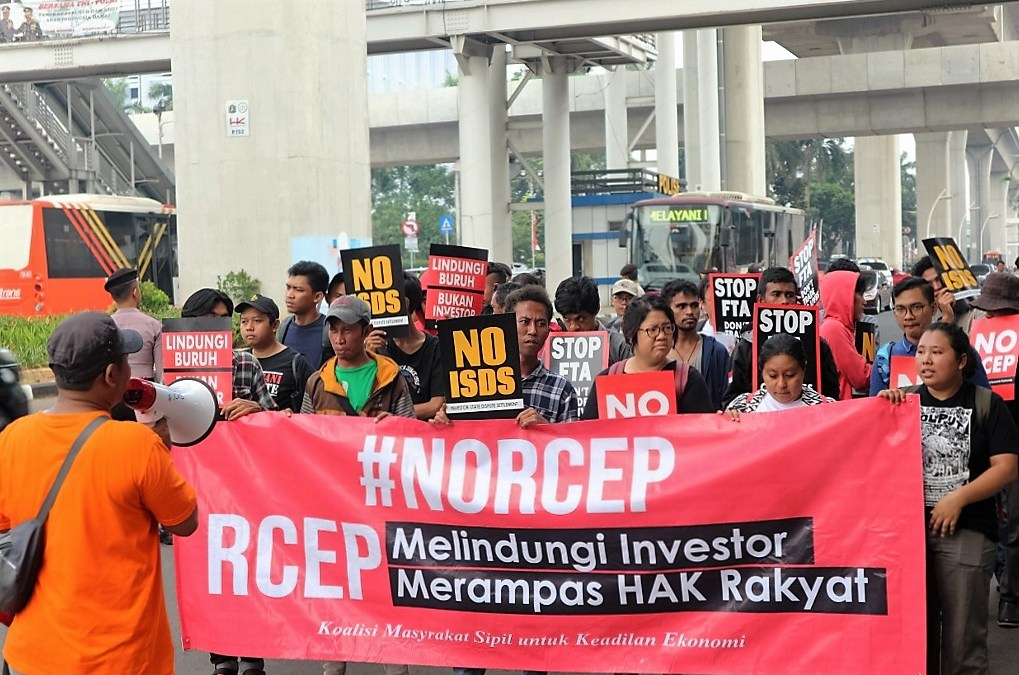 RCEP Protecting Investors, Depriving People's Rights