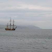 Воронежец рассказал о сбывшейся мечте – он добрался до Ирландии на фрегате «Штандарт»