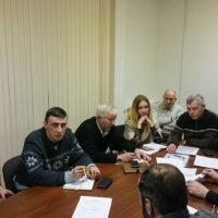 Общим голосованием выбран президент федерации бокса Воронежа.