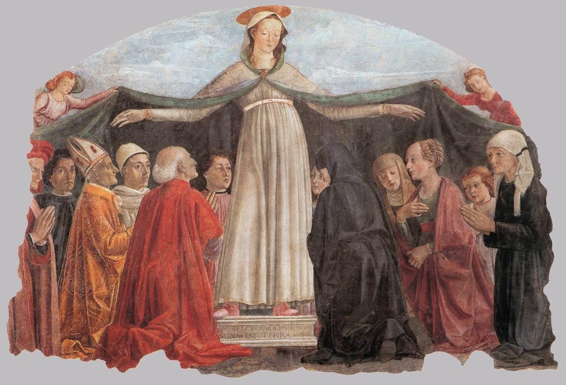 Resultado de imagen de Virgen de misericordia