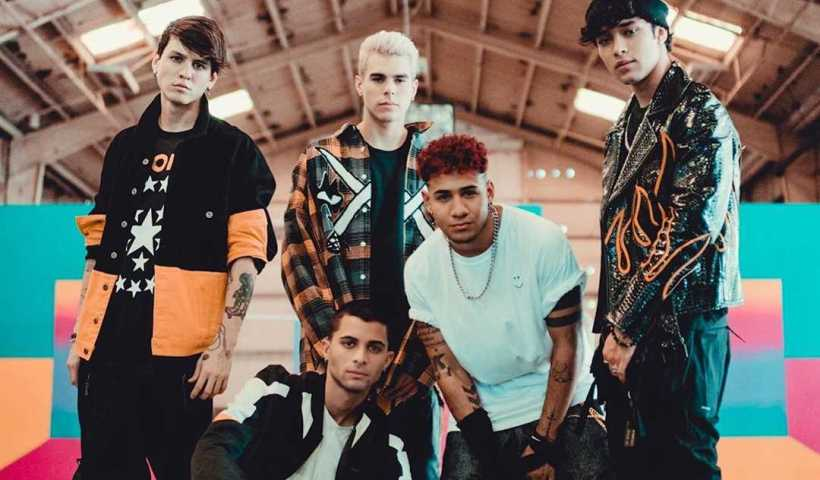 CNCO's Instagram Live Stream from October 25th 2019. The Band goes on Instagram while on road.