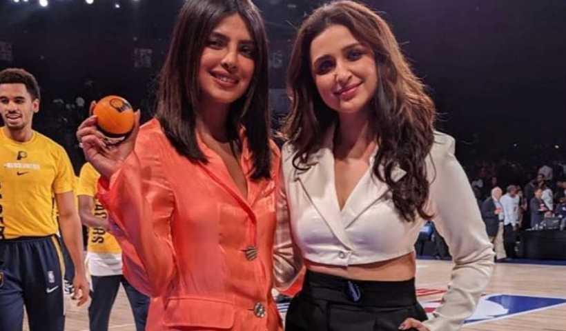Priyanka Chopra Jonas Instagram Live Stream with her cousin Parineeti Chopra from October 5th 2019.