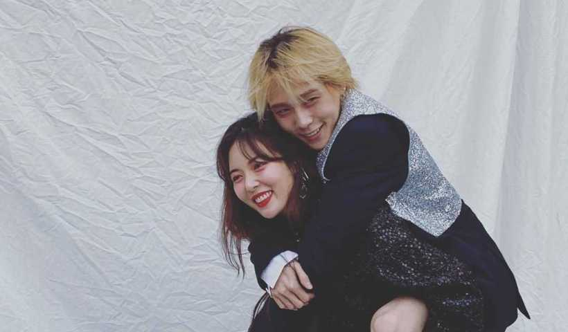 HyunA ( 현아 )'s Instagram Live Stream with E'Dawn from November 9th 2019.
