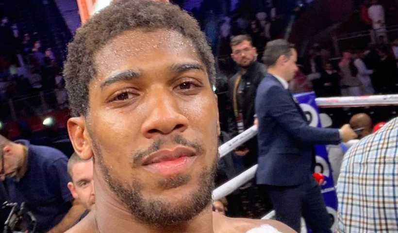 Anthony Joshua's Instagram Live Stream from December 11th 2019.