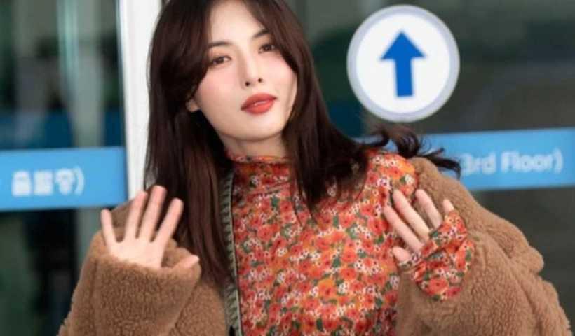 HyunA ( 현아 )'s Instagram Live Stream from December 24th 2019.