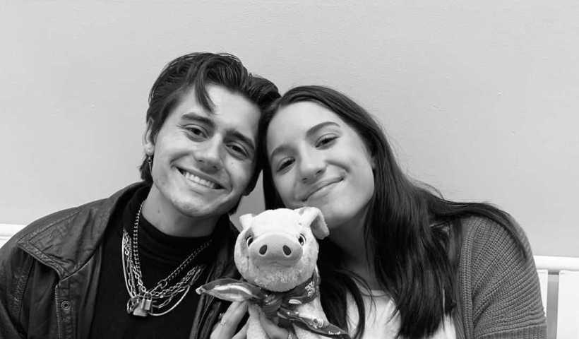 Mackenzie Ziegler's Instagram Live Stream with Isaak Presley from January 4th 2020.
