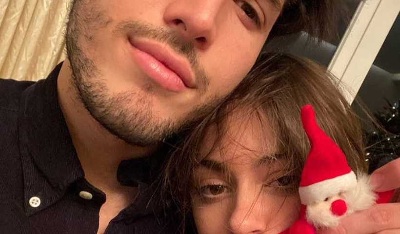 """Martina """"TINI"""" Stoessel's Instagram Live Stream with boyfriend Sebastian Yatra and Ricky Montaner from January 9th 2020."""