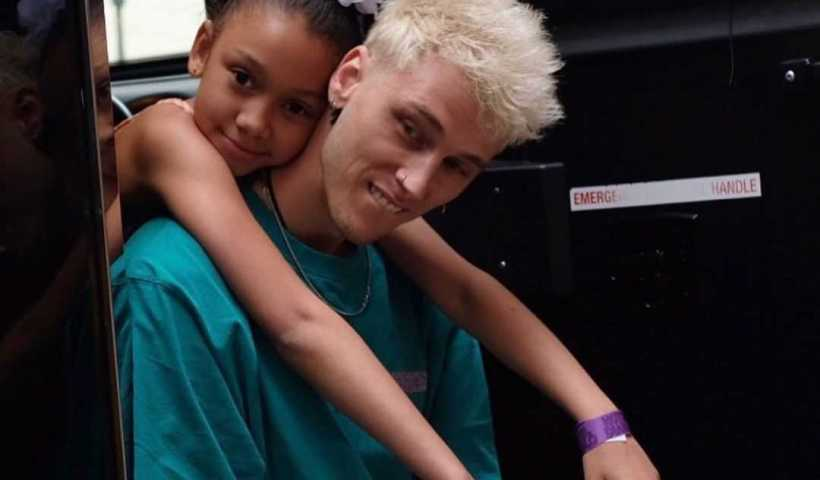 Machine Gun Kelly's Instagram Live Stream with his daughter Casie from February 4th 2020.