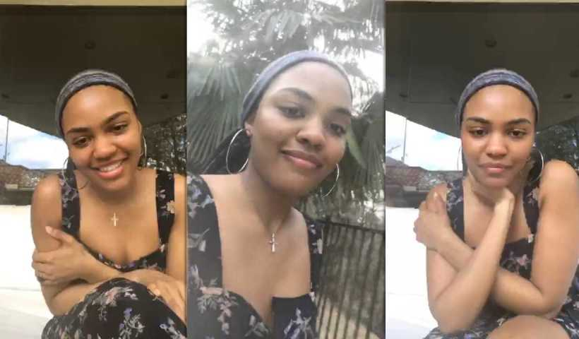 China Anne McClain's Instagram Live Stream from March 21th 2020.