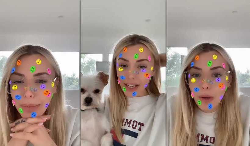 Corinna Kopf's Instagram Live Stream from March 20th 2020.