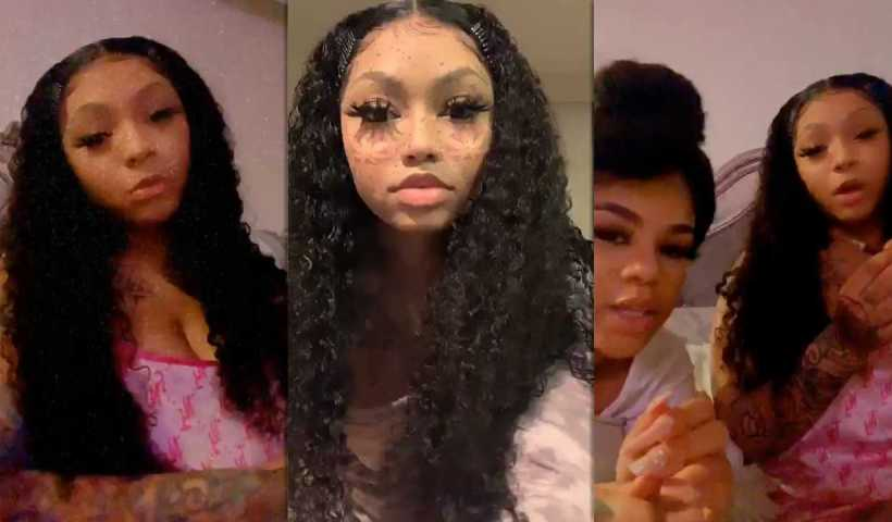 Cuban Doll's Instagram Live Stream from March 23th 2020.