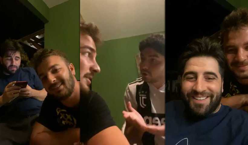 Fatih Yasin's Instagram Live Stream with Atakan & Bilal from March 12th 2020.