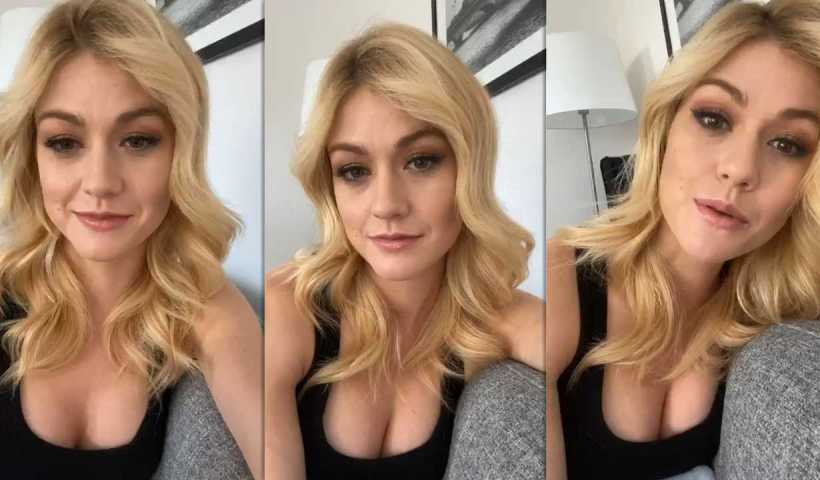 Katherine McNamara's Instagram Live Stream from March 31th 2020.