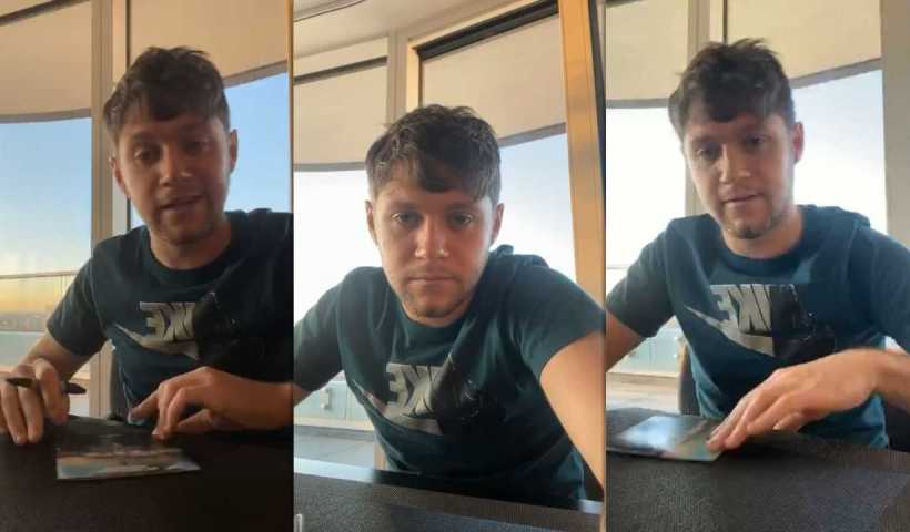 Niall Horan's Instagram Live Stream from March 23th 2020.