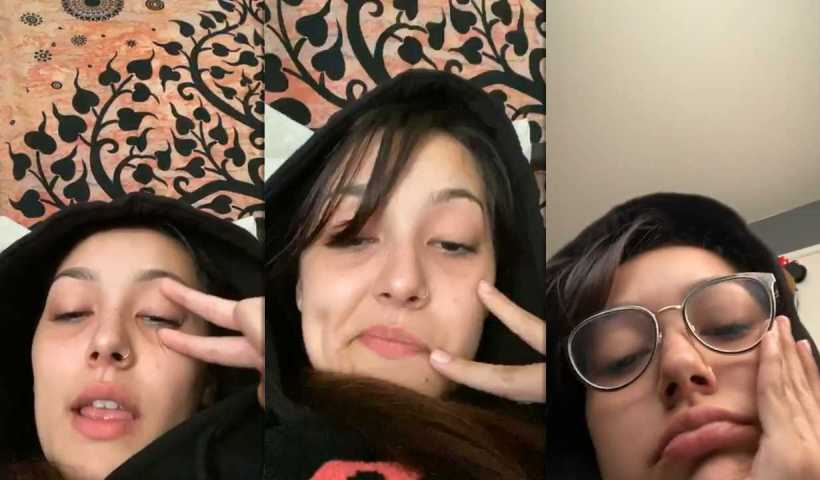 Hailey Orona's Instagram Live Stream from March 29th 2020.