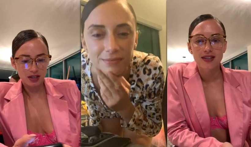 YesJulz's Instagram Live Stream from March 28th 2020.