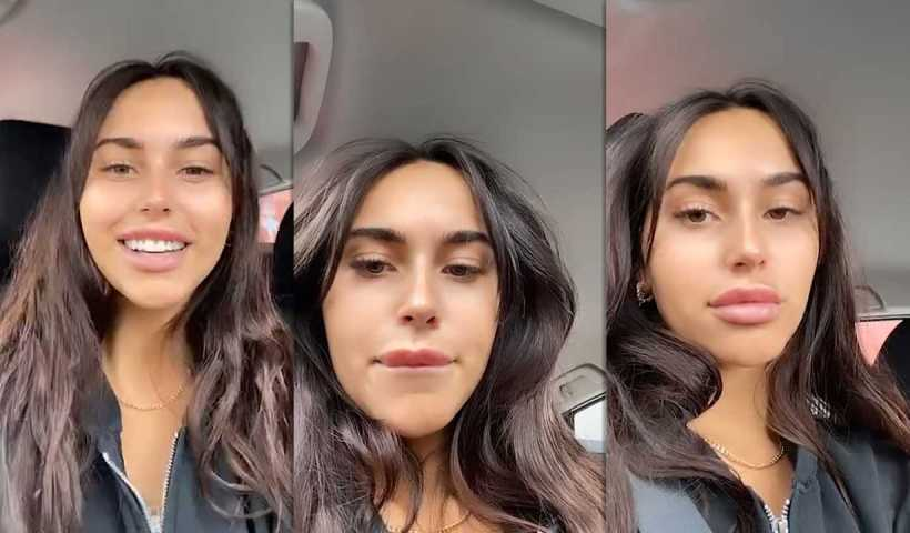 Claudia Tihan's Instagram Live Stream from April 17th 2020.