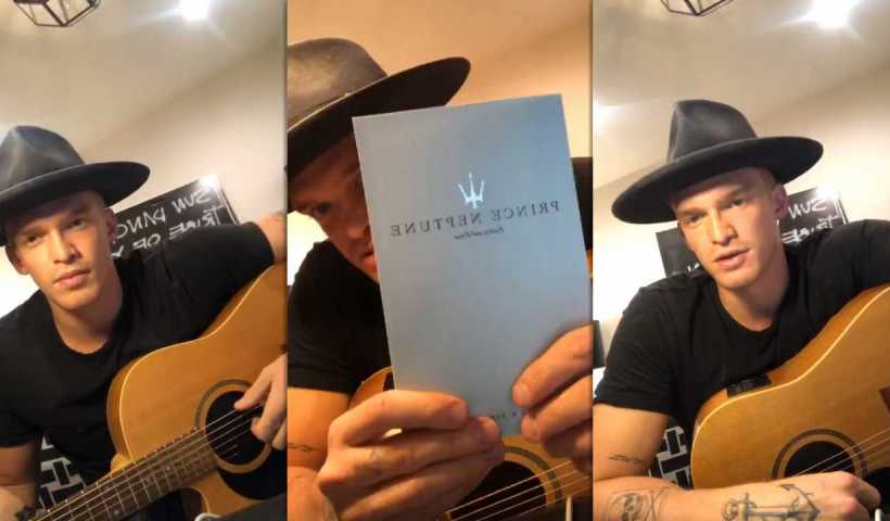 Cody Simpson's Instagram Live Stream from April 7th 2020.
