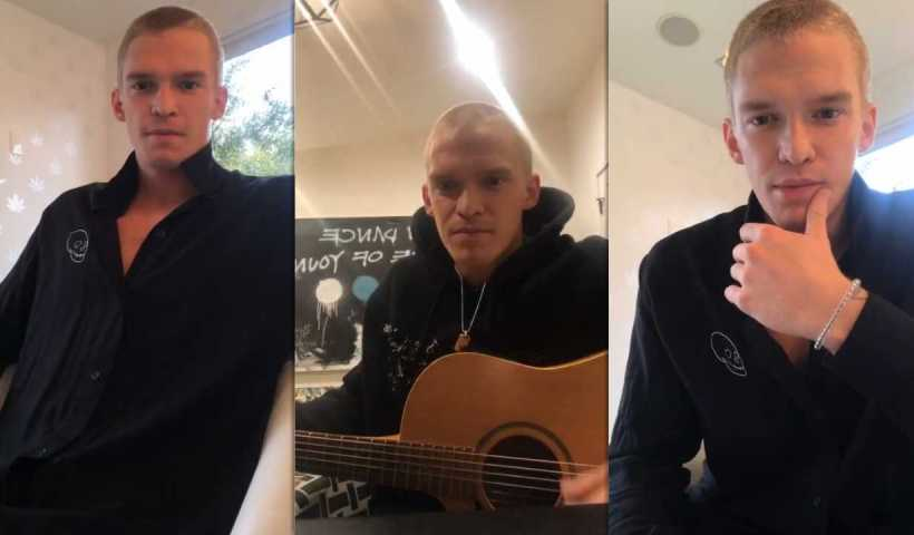 Cody Simpson's Instagram Live Stream from April 9th 2020.