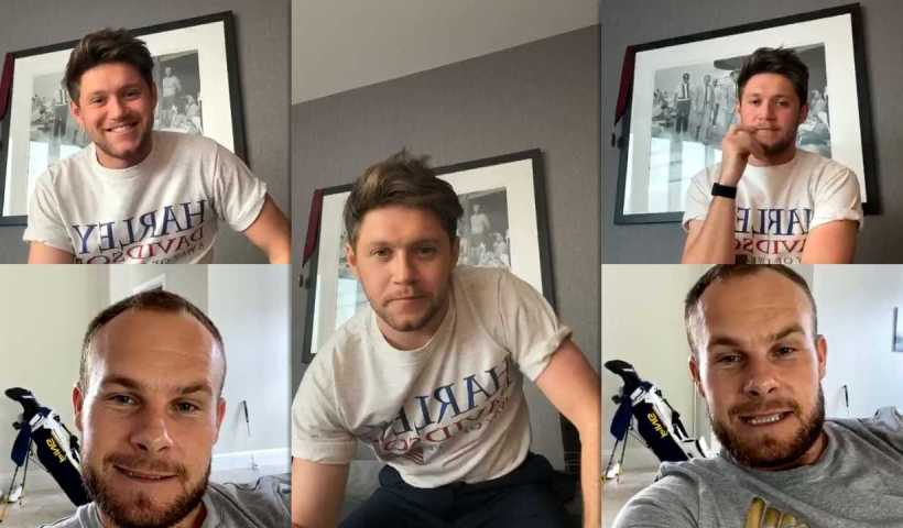 Niall Horan's Instagram Live Stream from April 8th 2020.