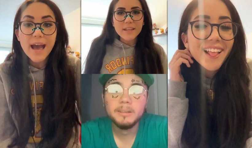 Carolina Díaz's Instagram Live Stream from April 9th 2020.