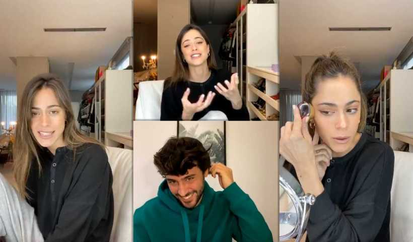 """Martina """"TINI"""" Stoessel's Instagram Live Stream from April 7th 2020."""