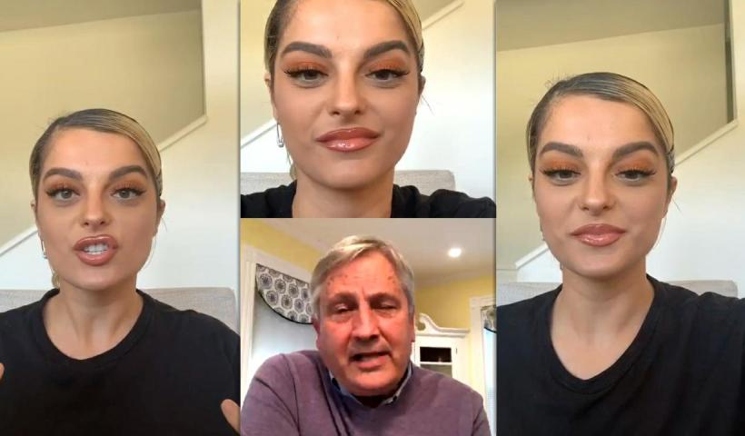 Bebe Rexha's Instagram Live Stream from May 5th 2020.