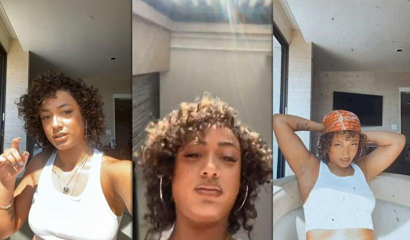 DaniLeigh's Instagram Live Stream from May 15th 2020.