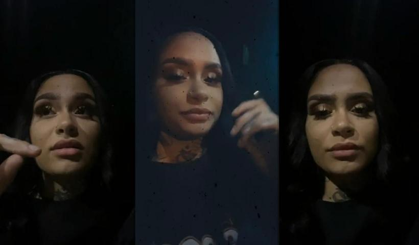 Kehlani's Instagram Live Stream from May 28th 2020.