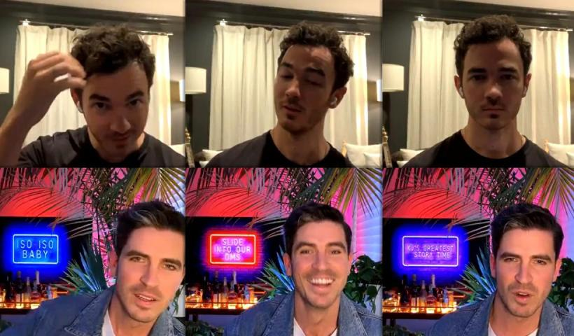 Kevin Jonas Instagram Live Stream from May 13th 2020.