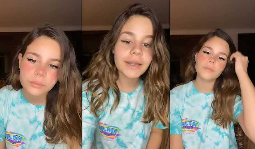 Luara Fonseca's Instagram Live Stream from May 17th 2020.