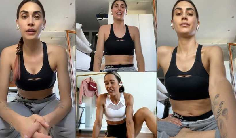 Melissa Satta's Instagram Live Stream from May 4th 2020.