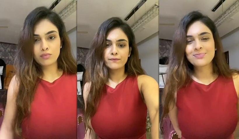 Neha Malik's Instagram Live Stream from May 17th 2020.